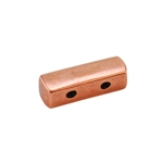 Copper Plate End Bar - Double Strand Pkg - 2