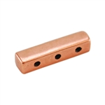 Copper Plate End Bar - Triple Strand Pkg - 2