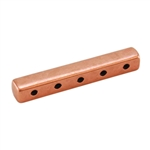 Copper Plate End Bar - Quintuple Strand Pkg - 2