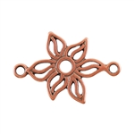 Copper Plate Connector - Lily Pkg - 2