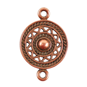 Copper Plate Connector - Indian Palette Pkg - 2