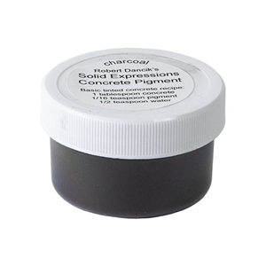 Solid Expressions - Concrete Pigment Charcoal - .5oz