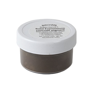 Solid Expressions - Concrete Pigment Brown  - .5oz