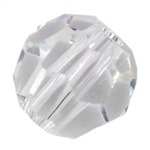Crystal White: Round 4mm