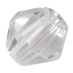 Crystal White: Bicone 4mm