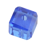 Crystal Sapphire: Cube 6mm