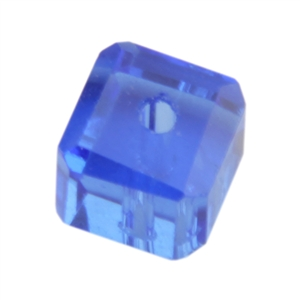 Crystal Sapphire - Cube
