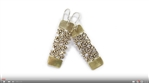 Project Video - Patterned Brass Earrings