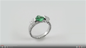 Project Video - Emerald Tea Ring