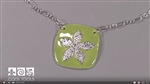 Project Video:  Sweet and Easy Enameled Pendant by Pam East