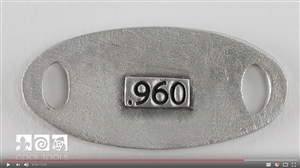 Project Video - Hallmarking Silver Metal Clay with Lisel Crowley