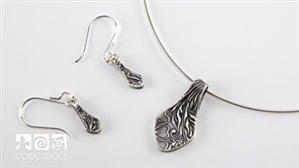 Product Video - Fun Fold Earrings and Pendant by Lisel Crowley