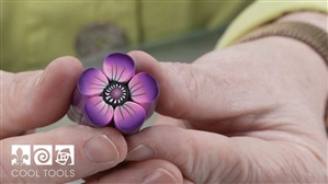 Project Video - Polymer Clay Flower Petal Cane by Deb DeWolff
