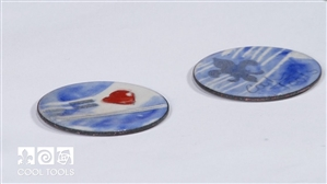 Project Video - Enameling with Graphite & Sunshine Colors by Jan Harrell