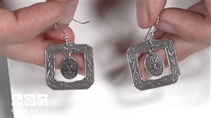 Project Video - Framed Tree of Life Earrings by Wanaree Tanner