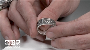 Project Video - Mens Continuous Knot Ring by Wanaree Tanner