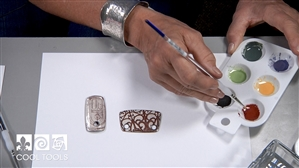 Project/Product Video - Painting with Ferro® Sunshine Enamels by Jan Harrell
