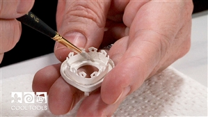 Project Video - Creating Bezel Wire using FS999™ Silver Clay and the Silhouette Curio™ by Cindy Pope