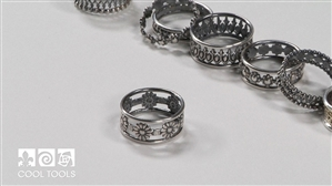 Product/Project Video - Stacked Patterned Wire Rings by Karen Trexler