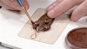 Project / Product Video - Creating a Pendant with Apoxie® Clay by Christi Friesen
