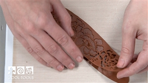 Project / Product Video - Cyprus™ Copper Clay Garden Rose Cuff – Two Ways by Karen Trexler
