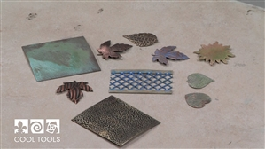 Project / Product Video - Making Gallery Wire and Stamped Metal More Interesting with Color by Christi Friesen