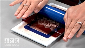 Product Video - Pattern Stencils for Metal Clay & Enameling