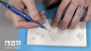 Project Video -  Tab Setting for Non-Fireable Stones with EZ960® Sterling Silver Clay by Cindy Pope