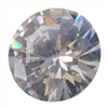 Cubic Zirconia - White Diamond - Round