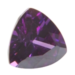 CZ: Trillion 8x8mm Amethyst Pkg - 1