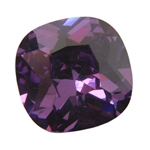 CZ: Amethyst - Cushion 14mm Pkg - 1
