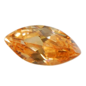 Cubic Zirconia - Champagne - Marquise