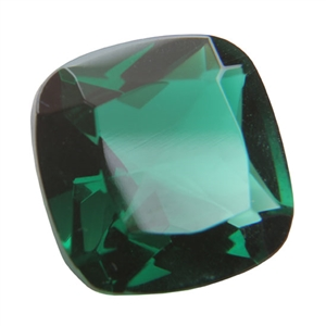Cubic Zirconia - Columbian Emerald - Cushion