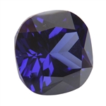 CZ: Dark Tanzanite - Cushion 14mm Pkg - 1
