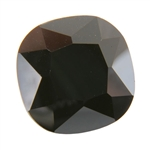Cubic Zirconia - Jet Black - Cushion