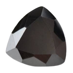 Cubic Zirconia - Jet Black - Trillion