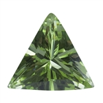 Cubic Zirconia - Green Apple - Triangle