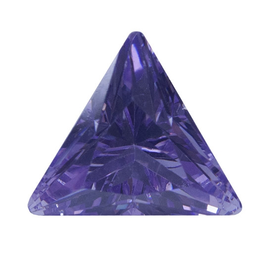 Cubic Zirconia Lavender Triangle Cool Tools