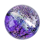 Dichroic Gems - Pink Small - 6mm to 10mm - 5 gems