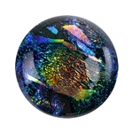 Dichroic Gems - Green Large - 16mm to 20mm Pkg - 3