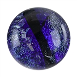 Dichroic Gems - Purple Large - 16mm to 20mm Pkg - 3
