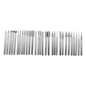 "Bits - Diamond 30 Piece Set - 1/8"" Shank"