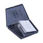 HSS Drill Set with Metal Case - Twist - 20 Piece