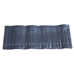 Drill Set with Pouch - #41 - #60 - 20 Piece