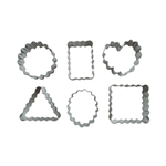 Shape Cutter Set - Crinkle Geometric