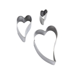 Premo Graduated Shape Cutter Set - Irregular Heart