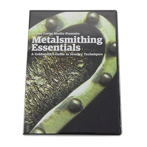 DVD: James Carter Studio Presents: Metalsmithing Essentials