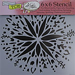 Design Stencil - Mini Folk Art Flower