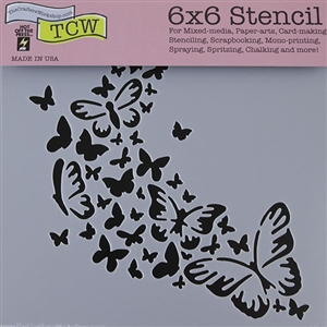 Design Stencil - Butterfly Trail