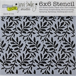 Design Stencil - Vineyard